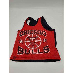Vintage 1992 Chicago Bulls Mesh Tank Baby Size 18